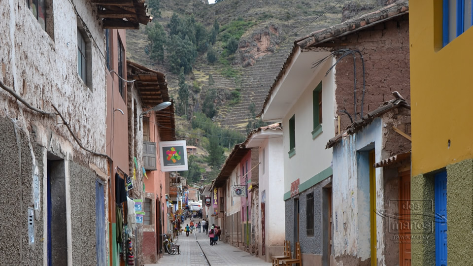 Pisac town close to Cusco Peru