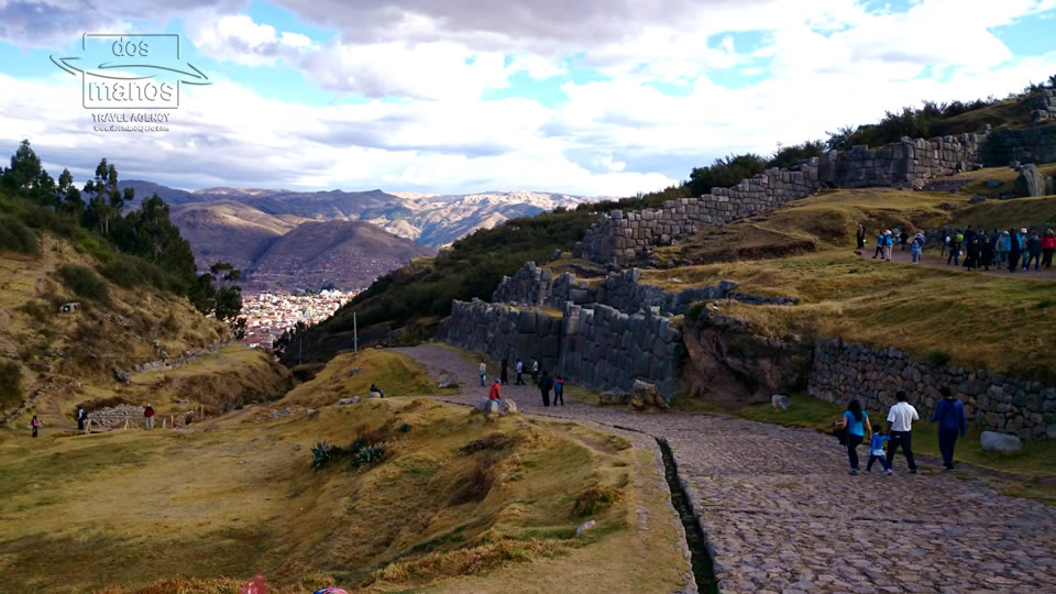 Path from Sacsayhuaman to Cusco
