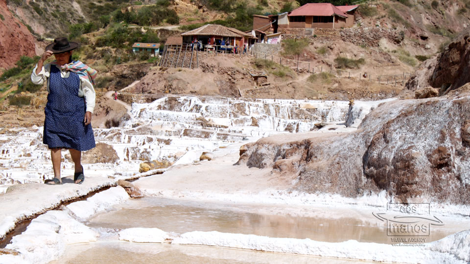 View of the Salt Terraces of Mara