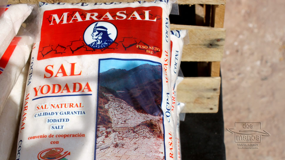 Natual Salt from the Maras Saltmines