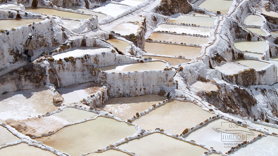 Fascinating Salt Terraces in the Sacred Valley