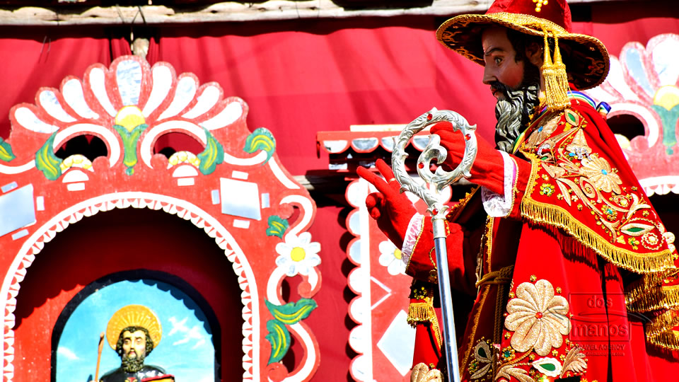 The feast of Corpus Christi in Cusco
