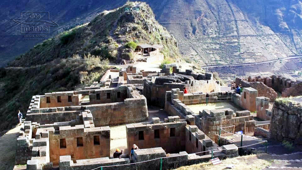 The Inca ruins of Pisac in Peru date from about the same time as Machu Picchu. To visit all the ruins you need a couple of hours, and it is highly recommended to take a taxi from Pisac town, as by foot the trip can be quiet exhausting.
