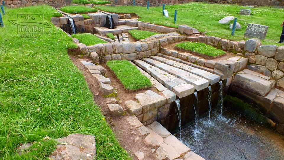 Irrigation system at Tipon close to Cusco