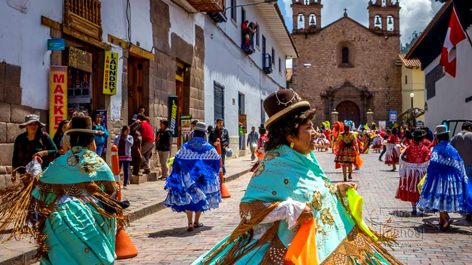 Colorful Costumes of the Candelaria Festival in Puno