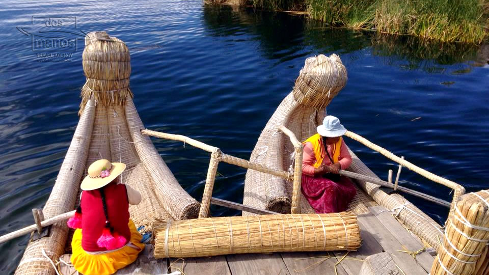 Boats for Transportation on the Titicaca Lake
