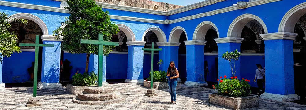 Santa Catalina Arequipa Peru Travel